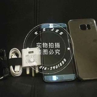 Samsung S7 edge Blue (prefect condition)