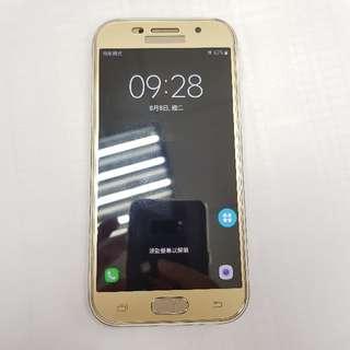 Samsung A5 2017最新版防水 智慧型手機 4G 保固中 金色
