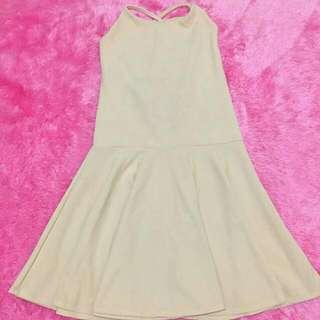 Lily Dress (Beige)