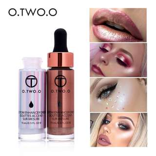 Ultra-concentrated illuminating and bronzing liquid highlighters 15ml