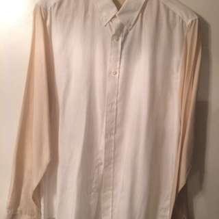 Topman Two Tone Silk Shirt