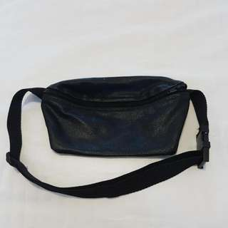 American Apparel Leather Waist Bag