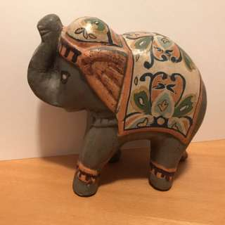 Wooden Elephant Decoration