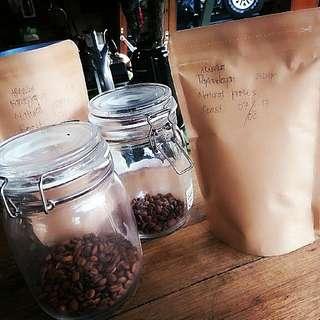 Coffee Beans after Roasting #Papandayan #Kamojang.