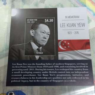 LKY stamp