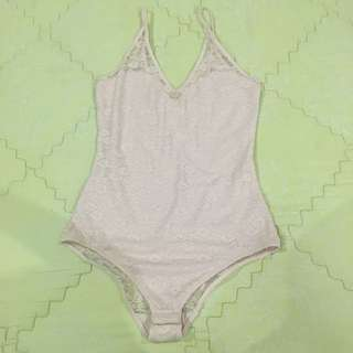 Bodysuit Baby Pink H&M
