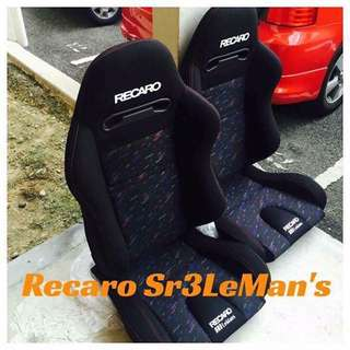 Bucket Seat Sr3LeMans
