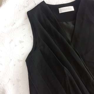 Local Brand Black Sleeveless Top