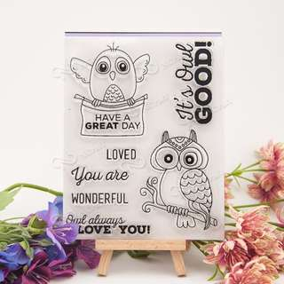 Owl Clear Stamp