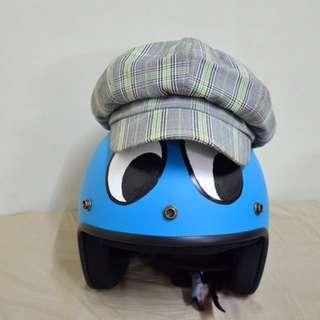 格紋報童帽