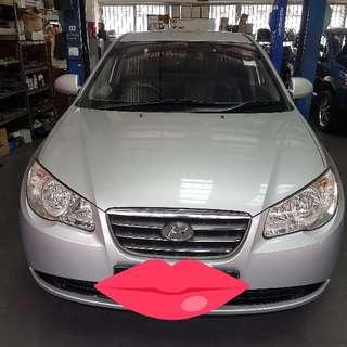 Hyundai Avante Rent For Uber Or Grapcar