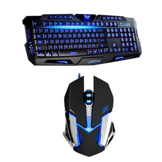 VORTEX Gaming USB Keyboard and ST-18 USB GAMING Mouse Combo (COD)