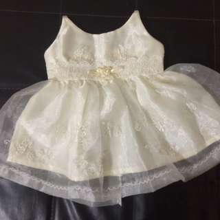 Baptismal Gown With Hat