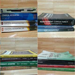 Accounting Books / Taxation / Other Management Books for sale