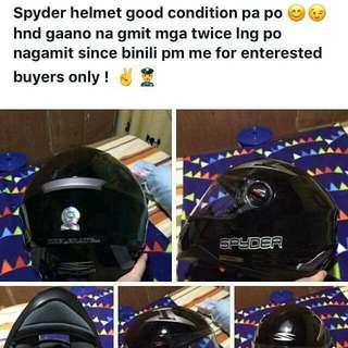 Spyder Helmet Meduim Size Used But Not Abused