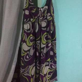 Printed Sexy Dress