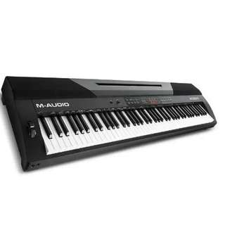 M-Audio Accent Digital Piano with 88 Hammer-Actions Keys, Built-In Speakers    Be the first to review this product