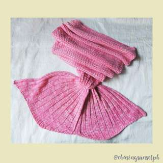 MERMAID TAIL BLANKET - Pink