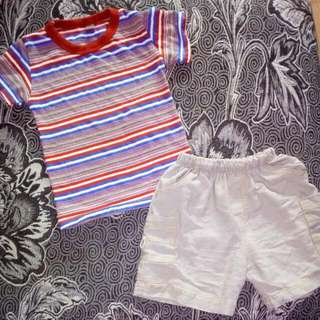baju & seluar 3-6 month