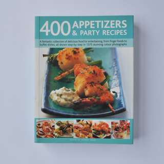 RECIPE BOOK | 400 Appetizers & Party Recipes
