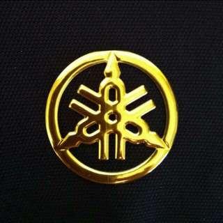 Yamaha Gold Emblem Epoxy
