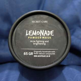 Secret Care Lemonade Powder Mask