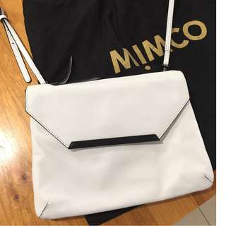 White Mimco ORIGAMI DUO HIP