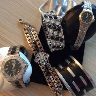Watches/bracelets