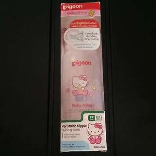 Pigeon Hello Kitty Nursing Bottle/milk Bottle 240ml #midjan55