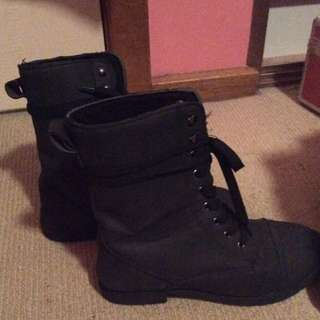 Army Boots (mid-calf)