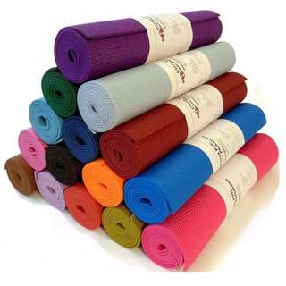 FREE POS!! 6mm Yoga Mat Anti-Slip With Carry Bag Exercise Fitness