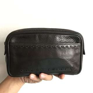 Clutch Bag Braun Buffel