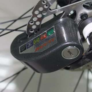 Disc Brake lock with alarm  110 dB