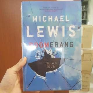 Boomerang Michael Lewis - BN in wraps, Hardback