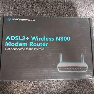 Wireless Modem Router ADSL2+