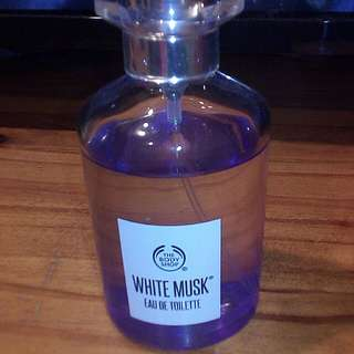 Body Shop White Musk Perfume