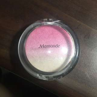 Mamonde打亮+腮紅