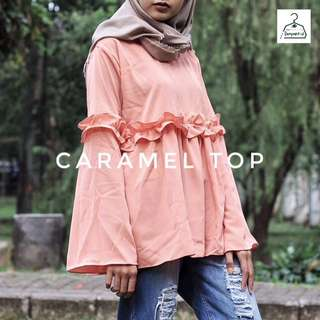 Caramel Top Peach