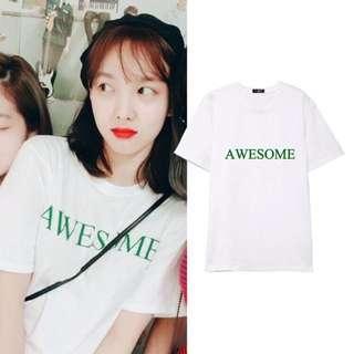 Po Twice Awesome Tshirt