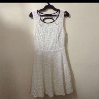 Forever 21 Lace Dress Backless