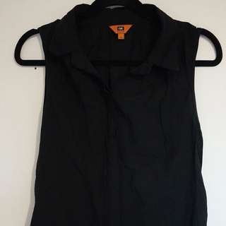 Black Cue Blouse