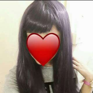 Dark Purple Wig (Reserved)