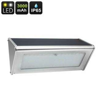 Outdoor LED Solar Light - 48 LED Lights, 800 Lumen, Solar Panel, 3000mAh, 4 Lighting Modes, IP65 Waterproof, 6W (CVACC-LT389)