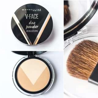 MAYBELLINE Face Studio - V Shape Powder MEDIUM DARK