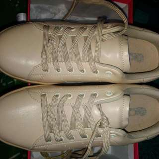 nude sneakers kicks (used once)