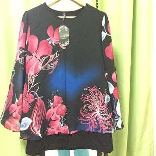 Batik Blouse With Inner