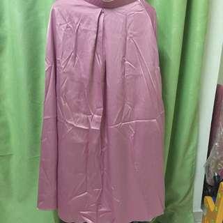 Thin Satin Flowy Skirt