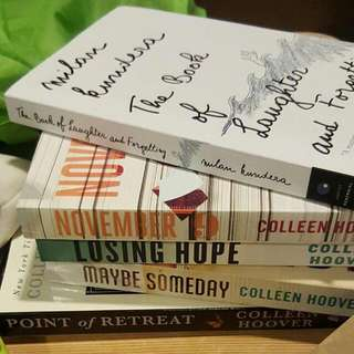 BRAND NEW COLLEEN HOOVER BOOKS!!