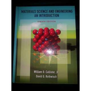 Materials Science And Engineering: An Introduction 8th Edition