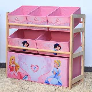 FREE DELIVERY Kids Toy Rack - Princess